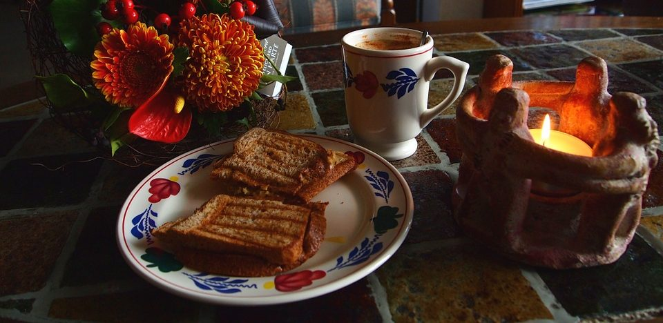 tosti met chorizo en paprika