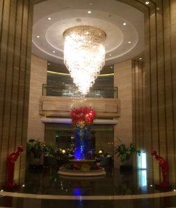 Lobby Crowne plaza Shanghai