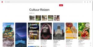 Pinterest cultuurreizen