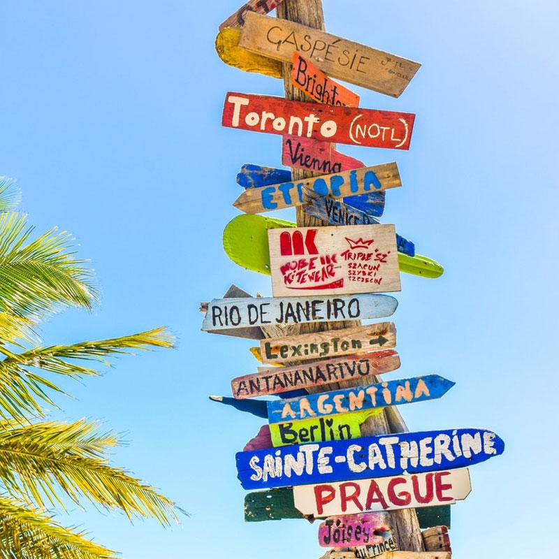 Vakantie hotspots