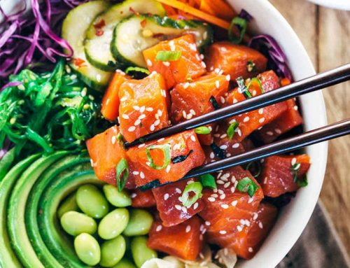Poke bowl recept