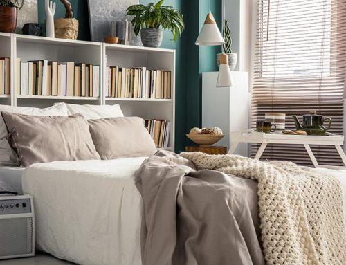 Hoe kan ik mijn kleine slaapkamer inrichten?