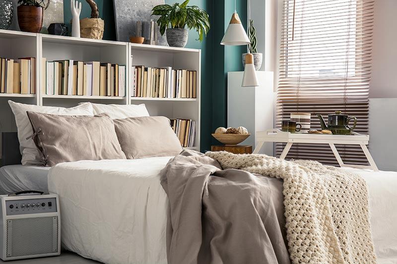 Slaapkamer boekenkast