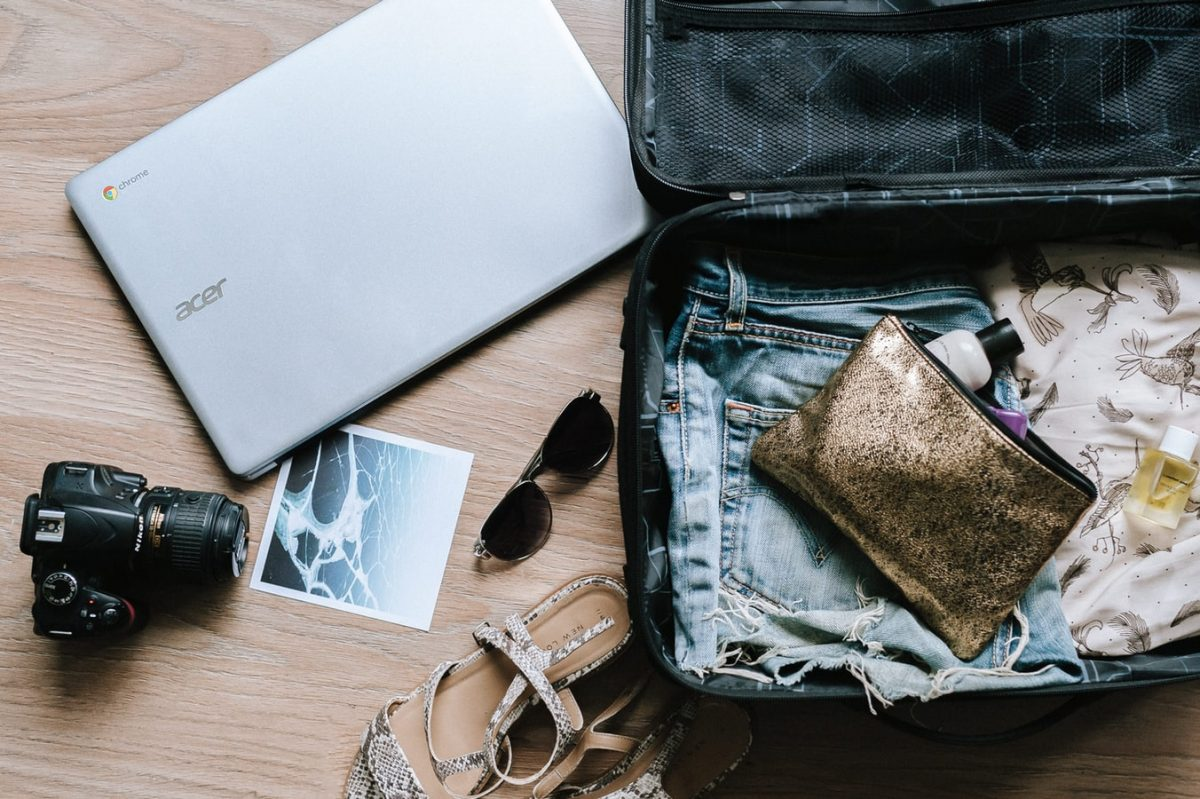 Whats in my travel bag