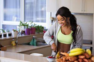 Voedingssupplementen in keuken