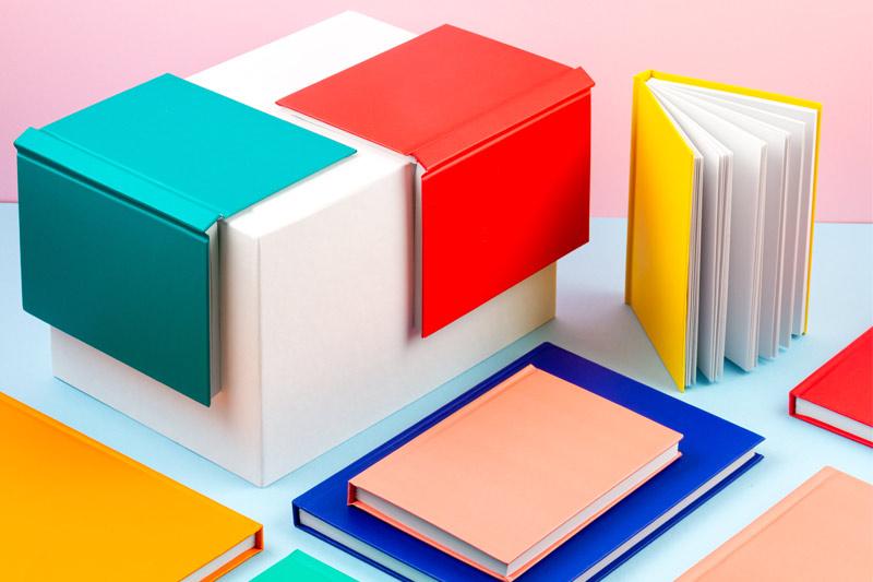 kleurrijk notitieblok
